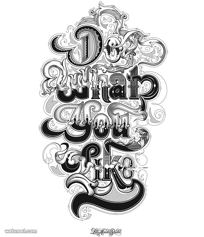 typography design what you like