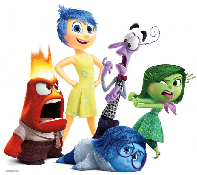 Inside Out 2015 Film: 3D Animation Movie Character Designs Trailers