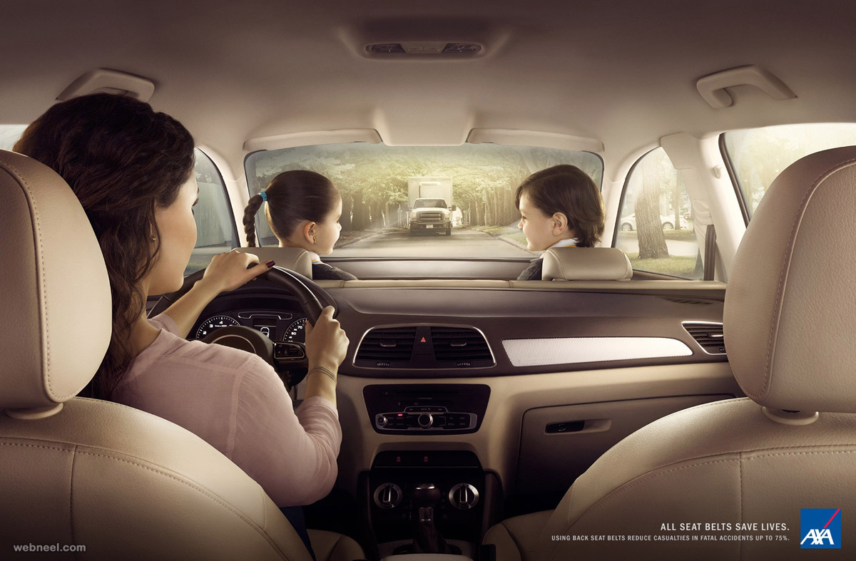 car ads seat belt