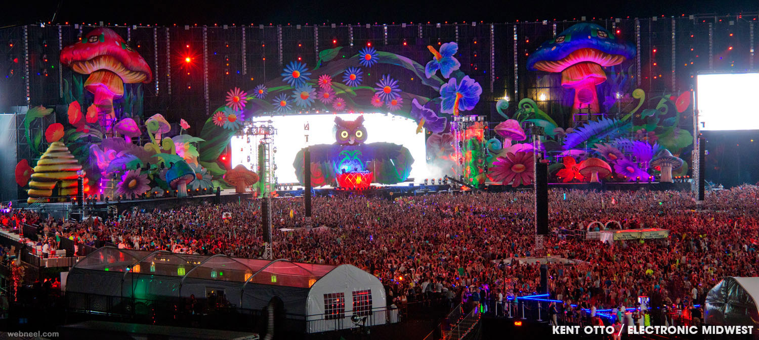 edm stage design