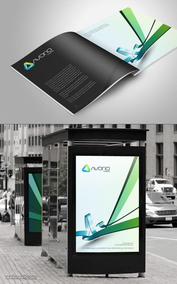 brochure design media