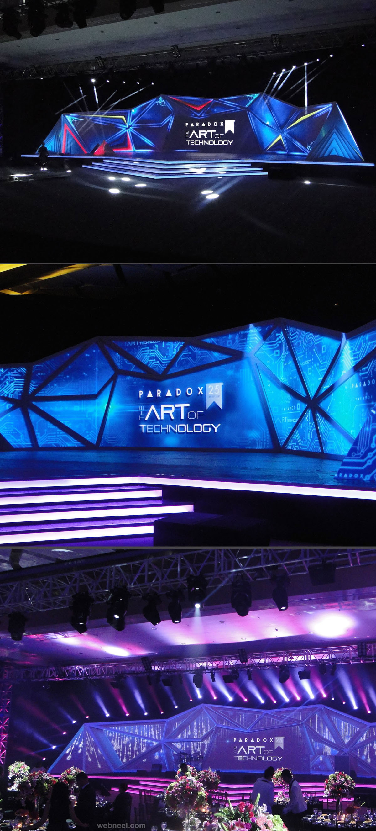 corporate stage design by phantom