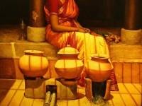 7-realistic-tamil-woman-painting-by-ilayaraja