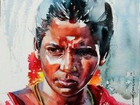 8-indian-watercolor-painting-by-sthabathy