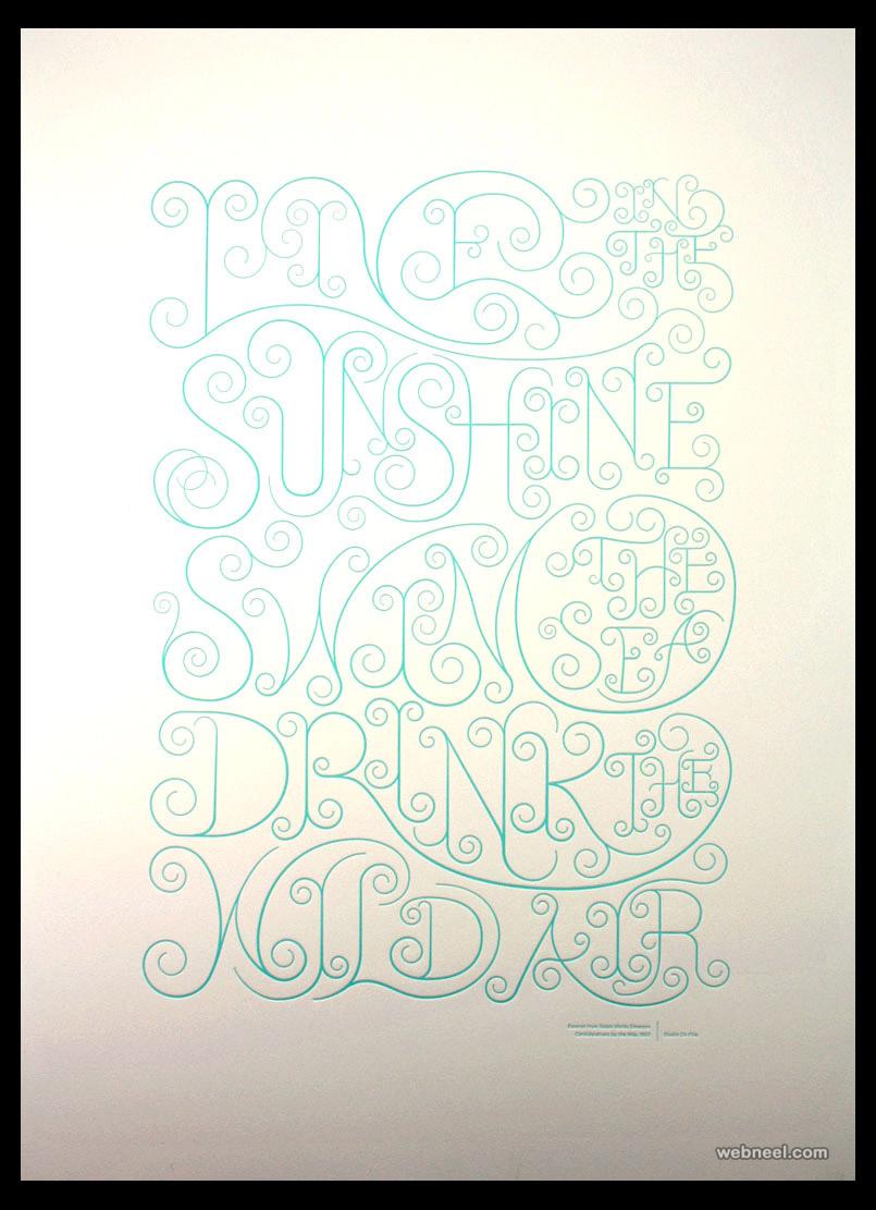 typography design wild air