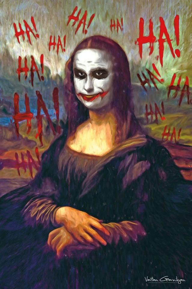 famous painting pop art by vartan garnikyan