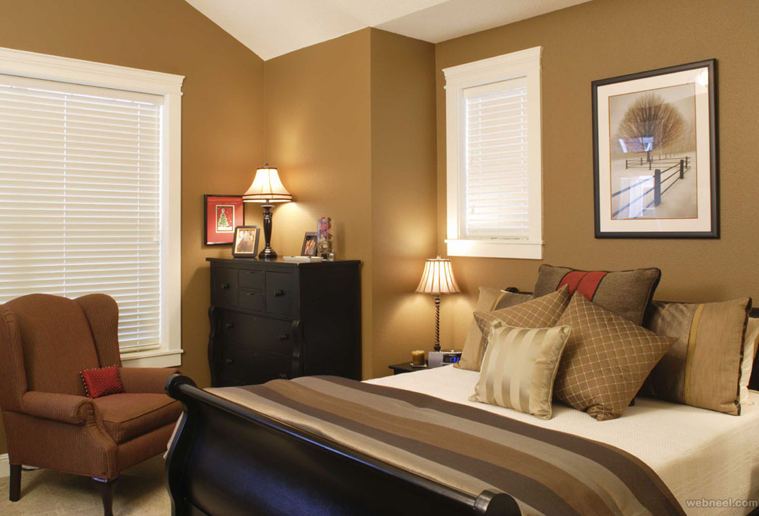 ... Brown White Bedroom Color Ideas