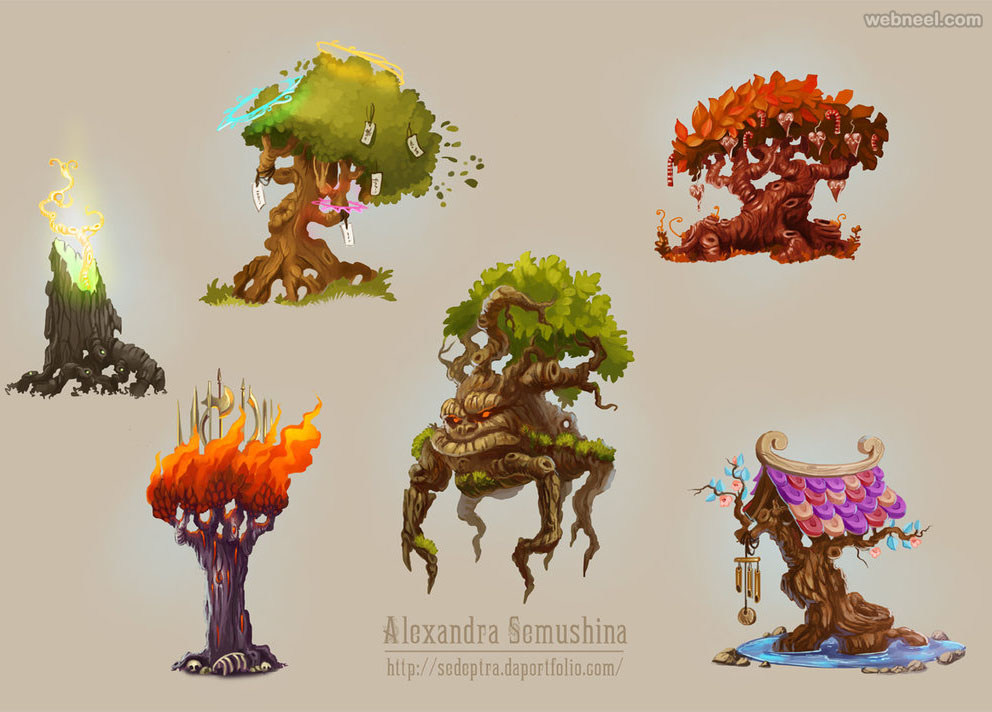 Tree Drawing Ideas By Sedeptra 15 Full Image