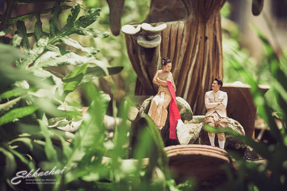 romance wedding photography by ekkachai