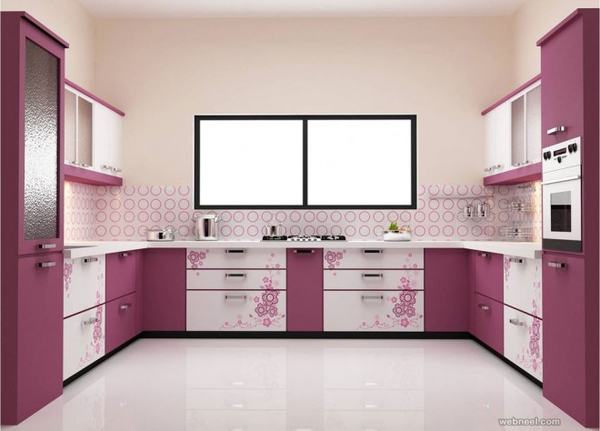 purple kitchen wall paint ideas