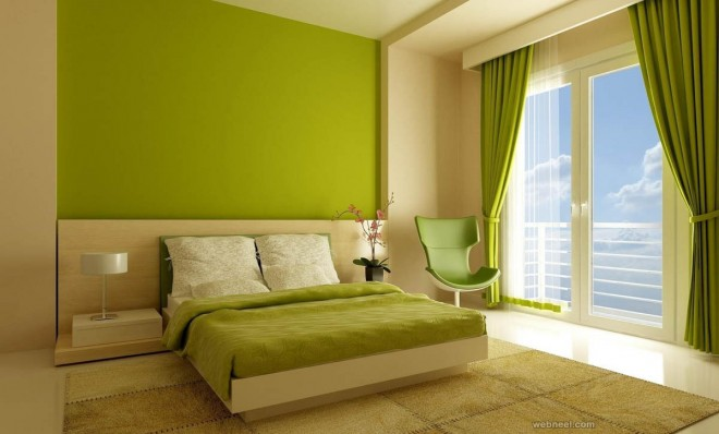 Cool Green Bedroom Color Ideas Design Ideas Of Best Green