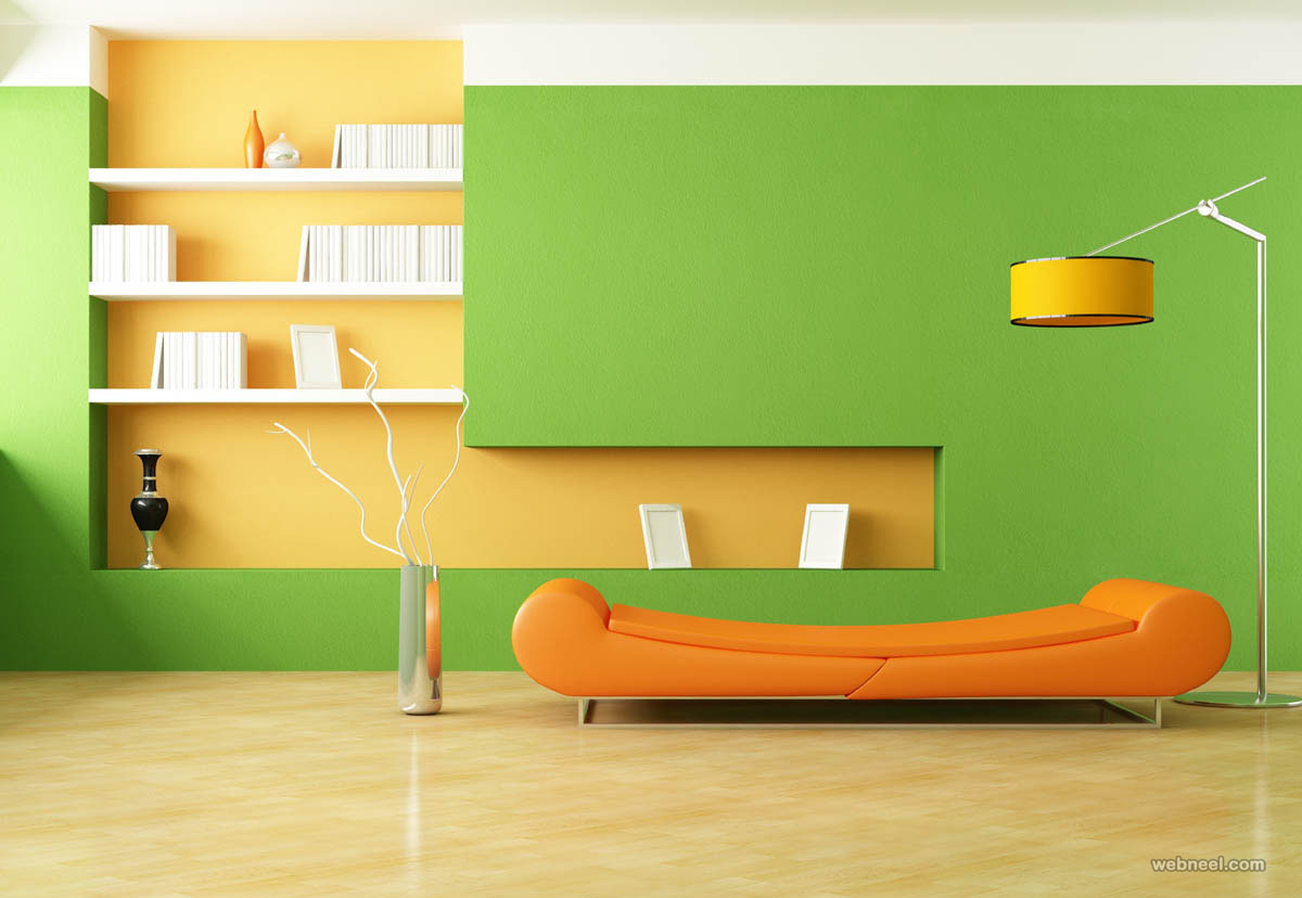 green living room color ideas 5 - Full Image