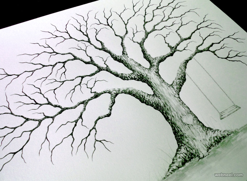tree drawing by lastingkeepsakes tree drawing tree drawing