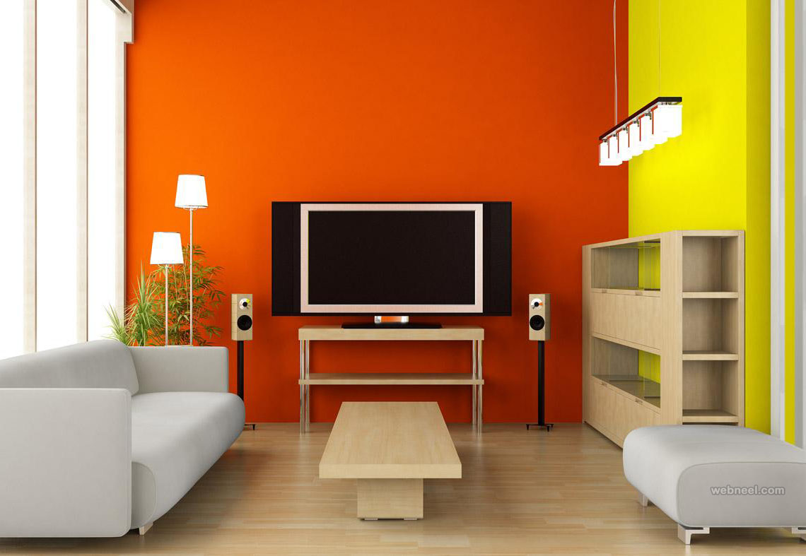 Orange Living Room Color Ideas Orange Living Room Color Ideas