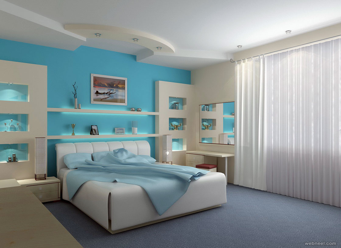 Blue Paint Colors For Bedrooms ...