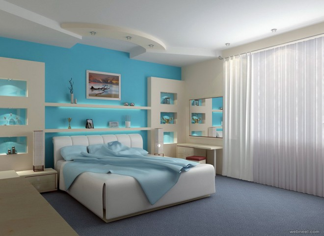 Beautiful Bedroom Paint Colors 50 beautiful wall painting ideas and designs for living room