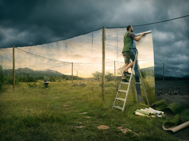 lanscape photomanipulation by erik johansson