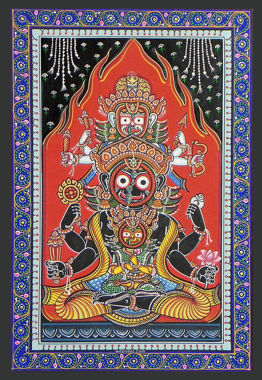 jagannathdev odisha pattachitra painting