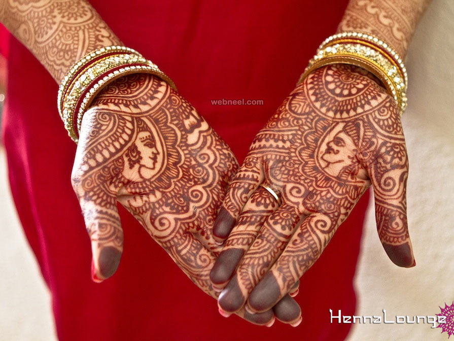 bridal mehndi henna design