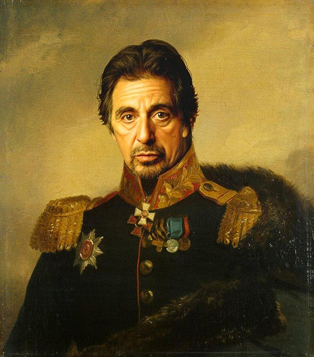 digital painting military portraits by steve payne