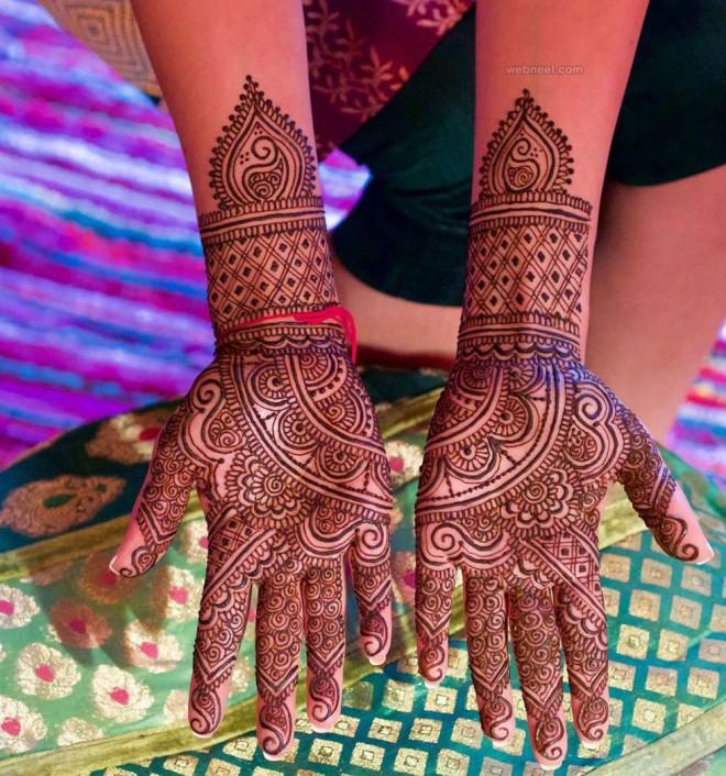 wedding mehndi design