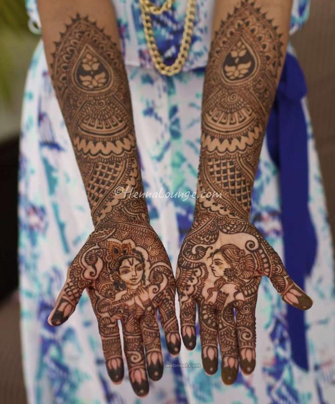 bridal weddingmehndi design