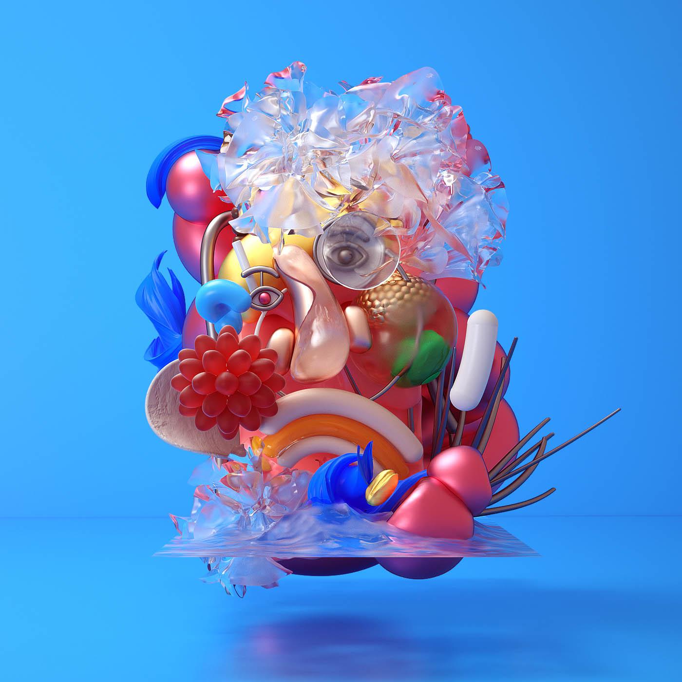 3d model figurative sculpture