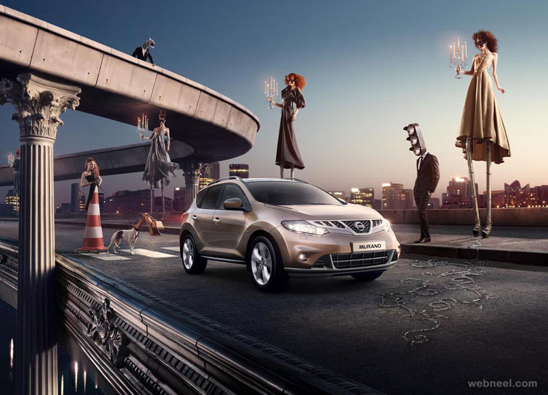 car ad photo manipulation