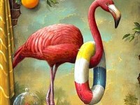 17-flamingo-surreal-painting-by-kevin-sloan