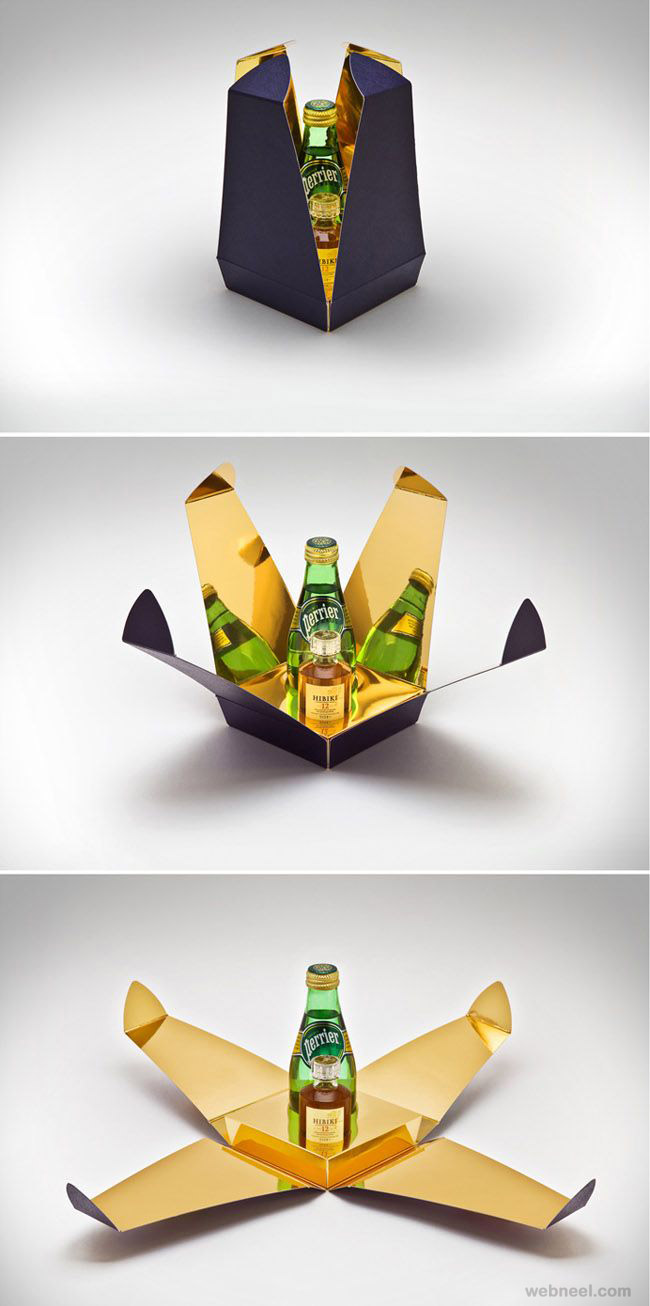 creative bottle packaging design