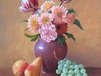 2-fruit-and-flowers-still-life-painting-by-philip-gerrard