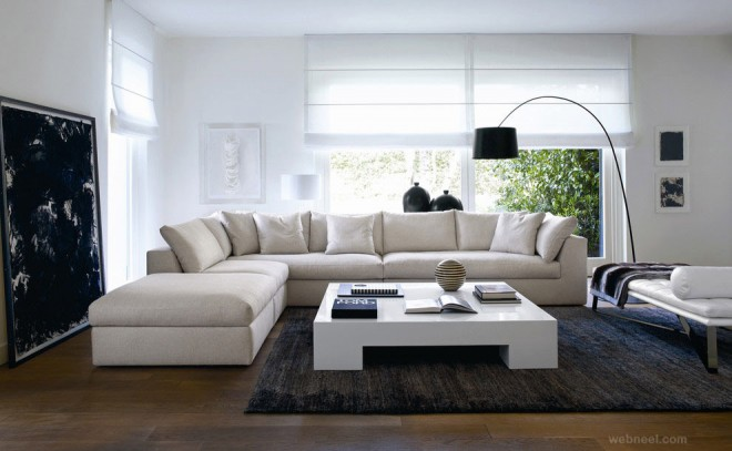 25 beautiful modern living room interior design examples for Beautiful modern living rooms