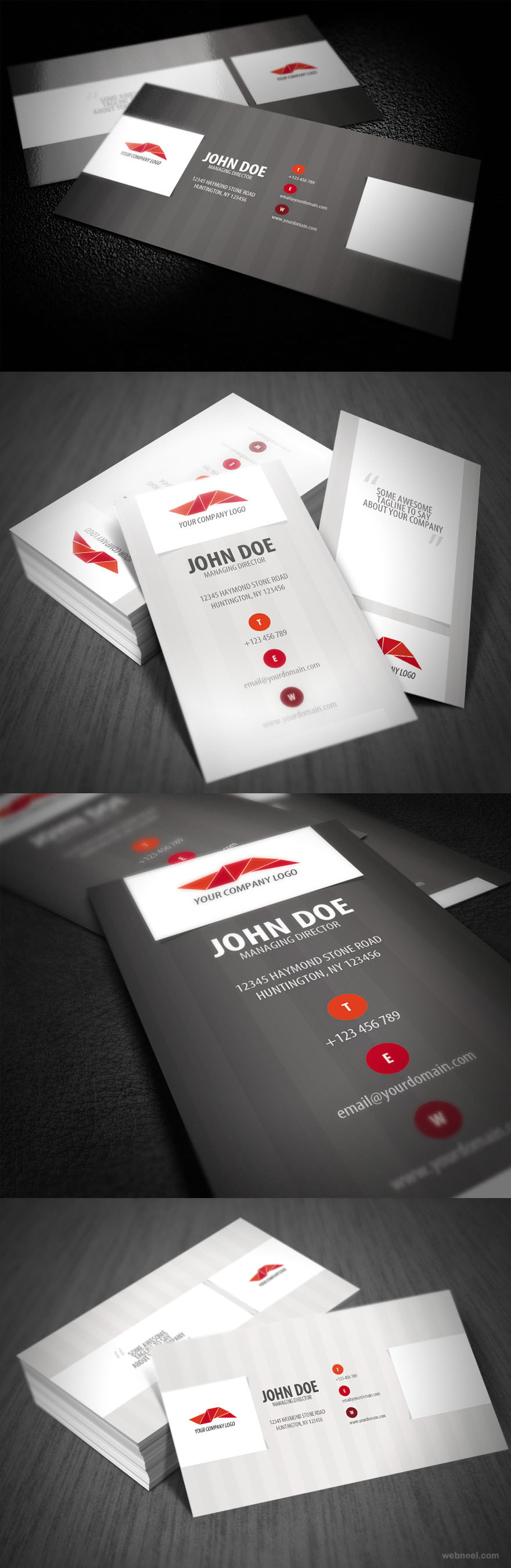 Corporate business card design 22 preview for Corporate business card designs