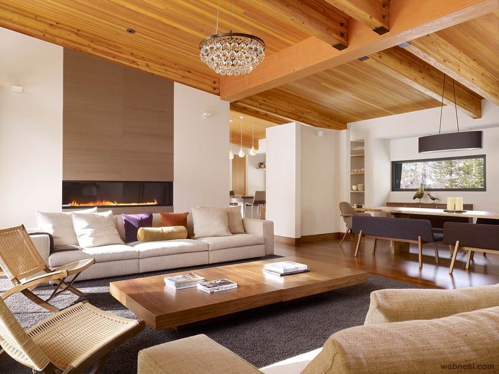 Modern living room best interior design 22 - Interior design ceiling living room ...