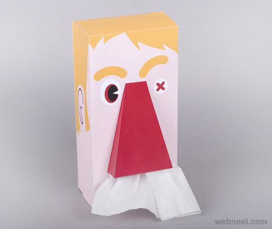 tissue paperpackaging design