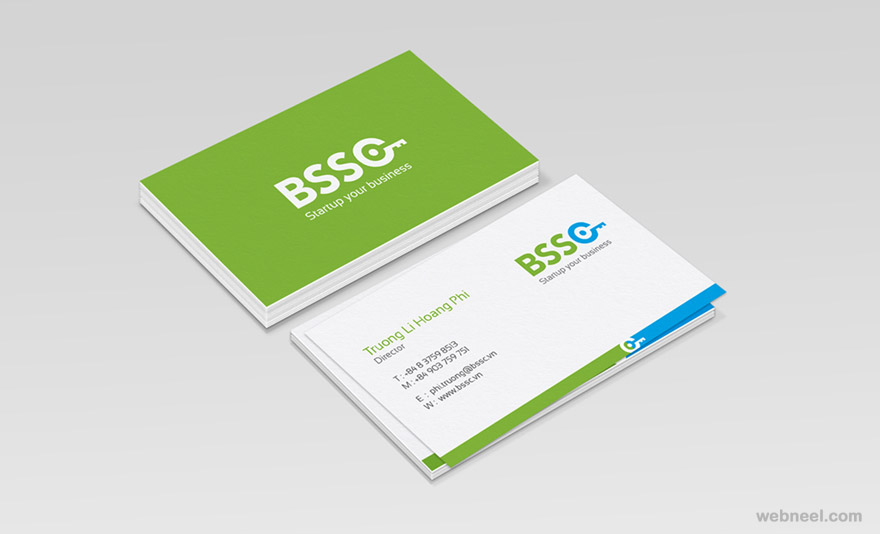 corporate business card design 4 - preview