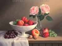 4-fruit-flowers-still-life-painting-by-philip-gerrard