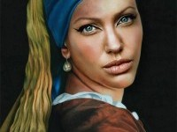 6-angelina-jolie-old-art-celebrity-painting-by-pixjockey