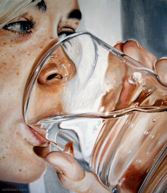 20 Beautiful and Hyper Realistic Oil Paintings by Sweden ...