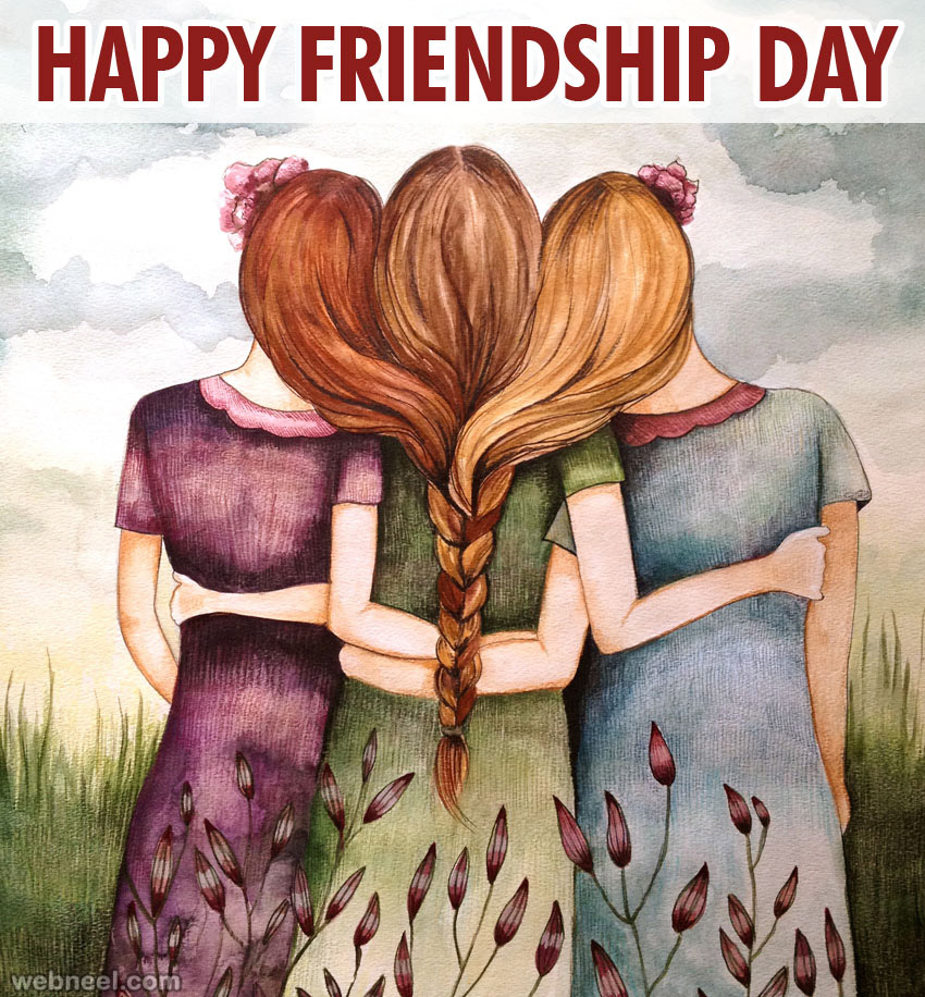 50 Beautiful Friendship Day Greetings Messages Quotes and ... Happy Friends Quotes