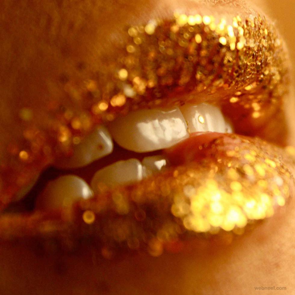 lips oil paintings by jkb