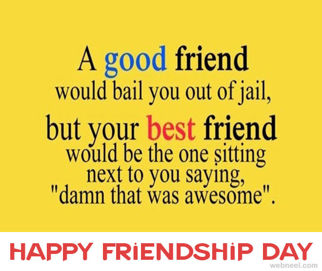 Happy Quotes About Friendship Classy 30 Beautiful Friendship Day Greetings Quotes And Wallpapers