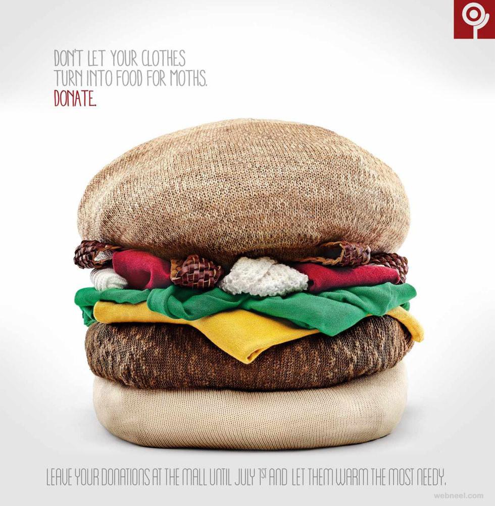 best ads agasalho hamburguer