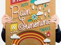 6-typography-art-design-rain