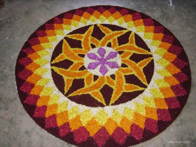 pookalam designs color