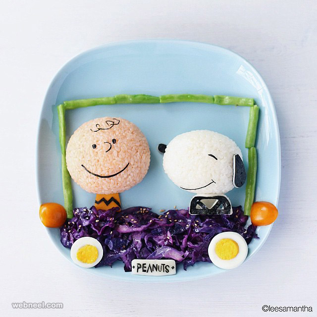creative food art idea by samantha lee