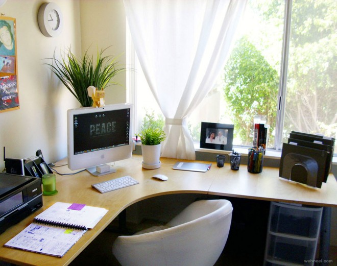 30 modern office design ideas and home office design tips for How to decorate home office