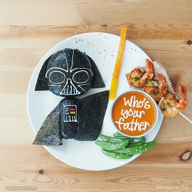 food art craft idea by samantha lee