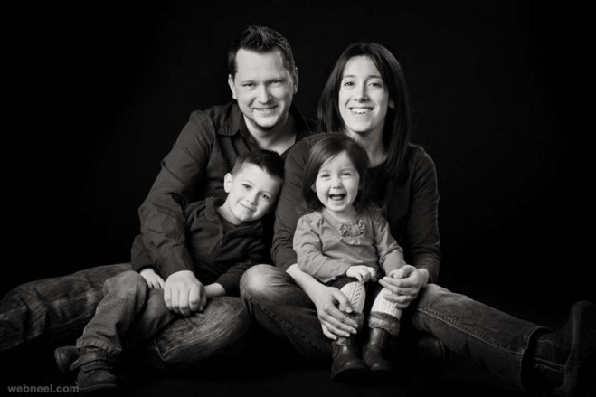 Unique Family Photo Ideas In Studio