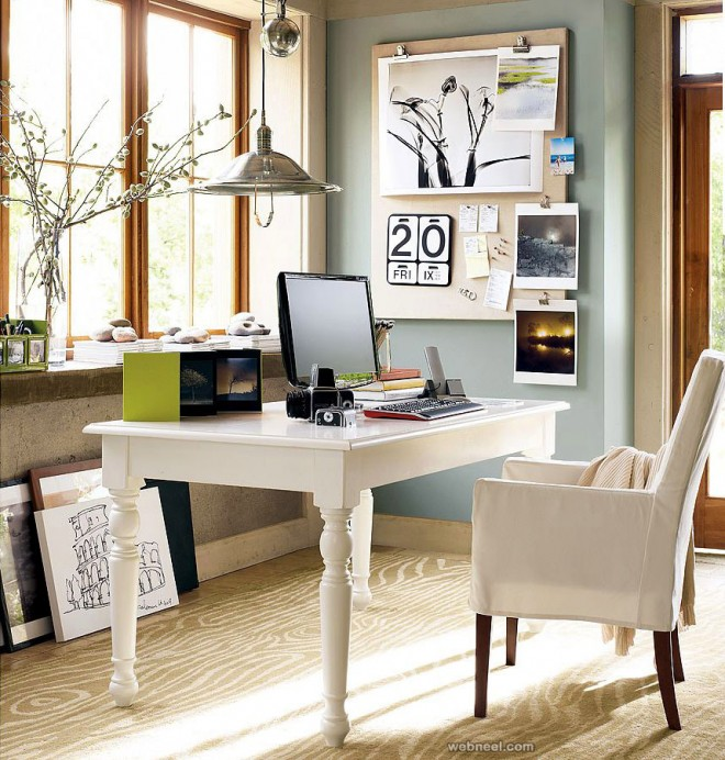 Marvelous 30 Modern Office Design Ideas And Home Office Design Tips Largest Home Design Picture Inspirations Pitcheantrous